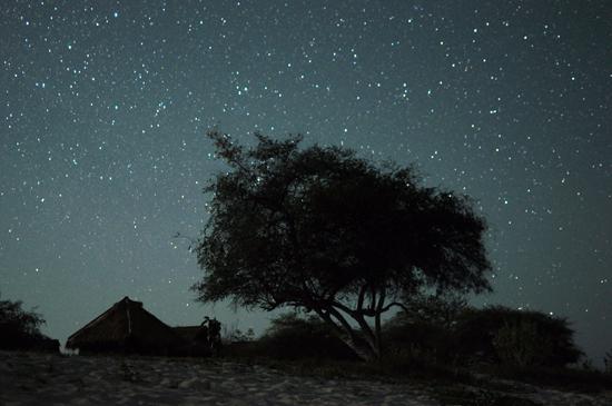 Malam di Pulau Kanawa