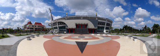 Amazing Cloud | Sport Center Pekanbaru | SONY DSC-TX10