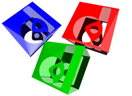 logo 3 dimensi