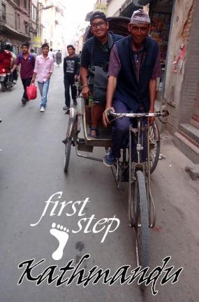 menjelajah Kota Kathmandu bersama warga lokal
