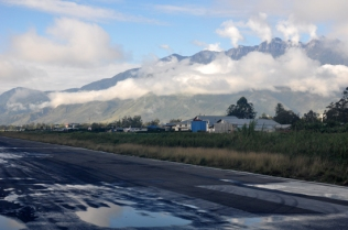landasan pacu bandara Wamena