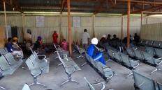 ruang tunggu bandara Wamena