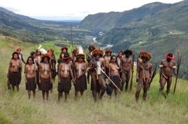 keindahan Lembah Baliem, panggung sempurna aksi teatrikal Perang Suku Lani