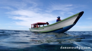 Bersiap snorkeling di Masilok