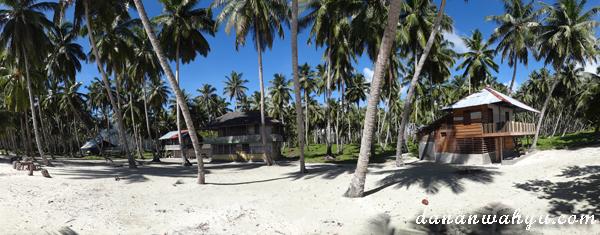 Pondo Kayu di Pulau Masilok