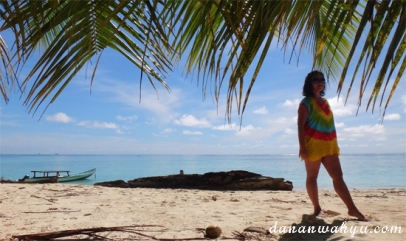 Berpose di Pulau Masilok