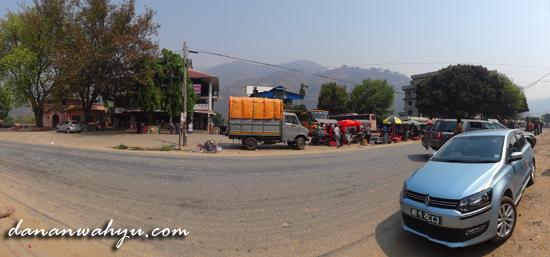 kota Maleko - tempat singgah kendaraan
