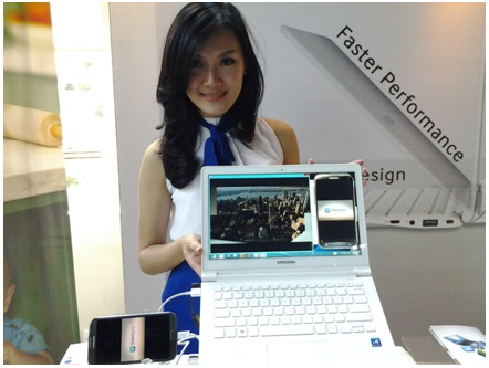 Beautiful Intelegent - desain si putih ATIV Book 9 Lite