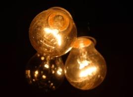 bola lampu ornamen unik