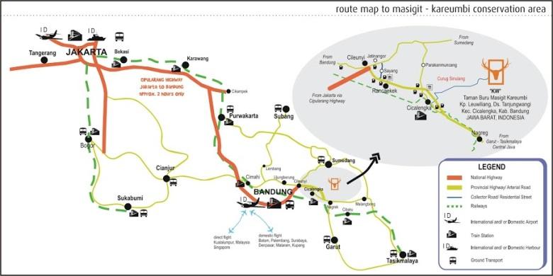 Peta Penunjuk Arah