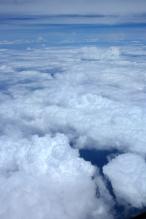 awan di atas kota Jambi