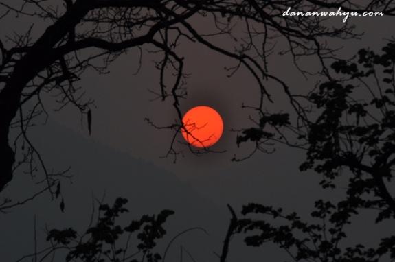 sunset di Pokhara