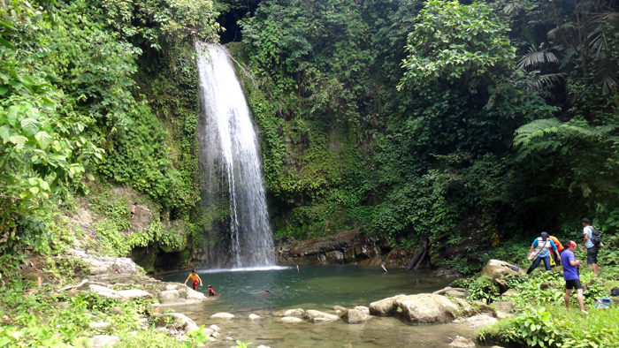 Air Terjun Wulu Kubuk -  Desa Madobak, Kecamatan Siberut Selatan