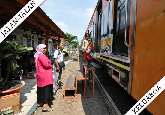 Naik Kereta Api Tanjungkarang-Kotabumi