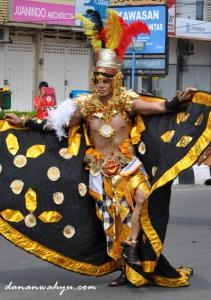 peserta dari Jember Fashion Carnival