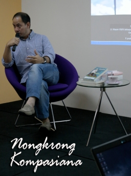 Nangkring Kompasiana Bersama Luigi Pralangga