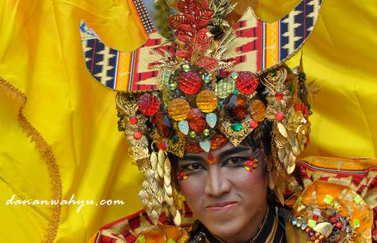 Super Carnival Budaya Lampung Indonesia
