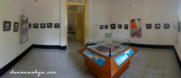 ruang koleksi masa karantina haji di Onrust