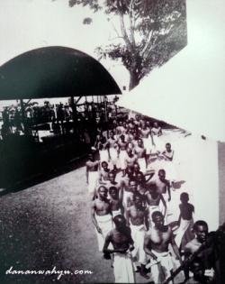 calon jamaah haji di pulau Onrust
