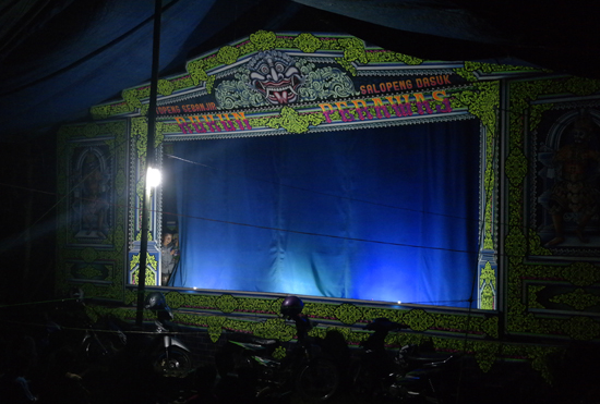 panggung Wayang Topeng Madura