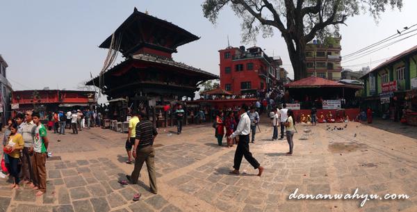 Kuil Manakamana - distrik Gorkha