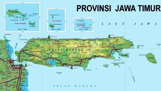 Madura dan Jawa Timur tanah kelahiran Ibu