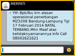 sms tanggal 27 November 2013