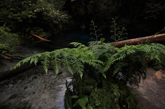 alam meredup menyisakan sedikit keindahan Danau Kaco