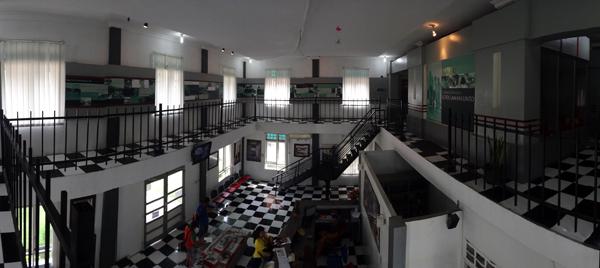 Gedung Info Box Lubang Suro - memaksimalkan potensi wisata Sawahlunto