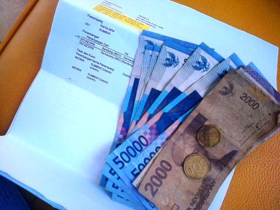 uang refund pembatalan tiket - jumlahnya hitung sendiri ya