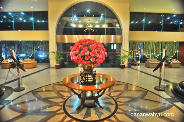 Lobi Novita Hotel Jambi