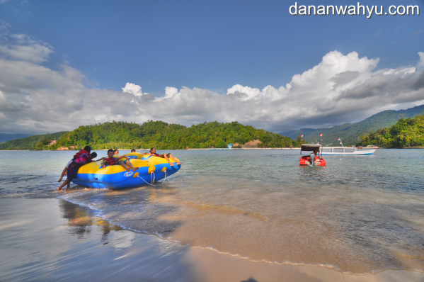 sarana hiburan di Pulau Cingkuak