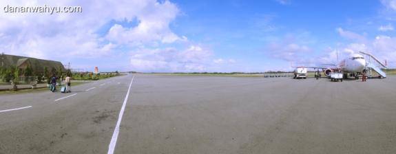 bandar udara Internasional Tarakan dan Lion Air