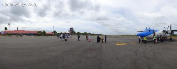 Sky Aviation dan Bandar Udara H. A. S. Hanandjoeddin