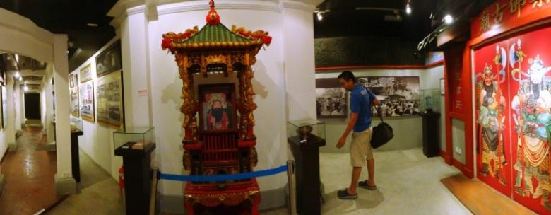 Belajar sejarah di Chinese Heritage Museum , Johor Bahru