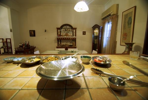 mengintip dapur sebelum masakan disajikan