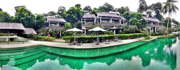 Emerald Pool, kolam renang di Tirta wing