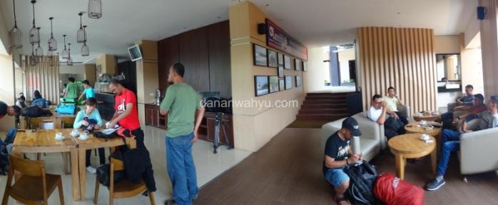 singgah sejenak di Wisma De Green - Bandar Lampung
