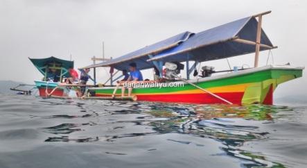 bersiap bersnorkeling di Tanjung Putus