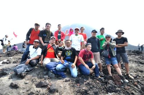 selebtweet Lampung berpose