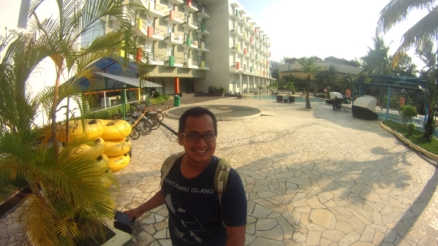 selfie di Harris Resort Waterfront Batam