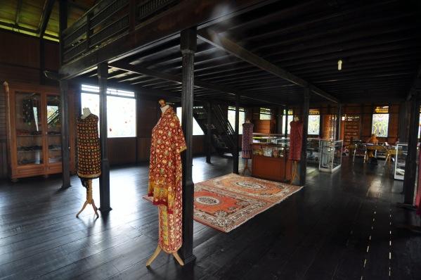 interior Balai Kerajinan Rakyat Selaras Pinang Masak