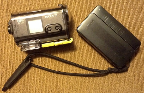 Sony HDR AS2- dan Sony DSC TX-10