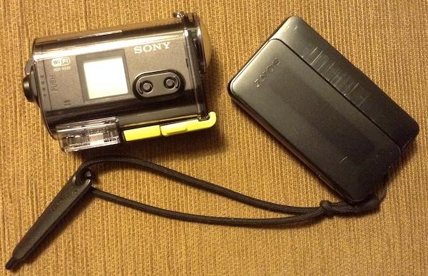 Sony HDR AS2- dan Sony DSC TX-10