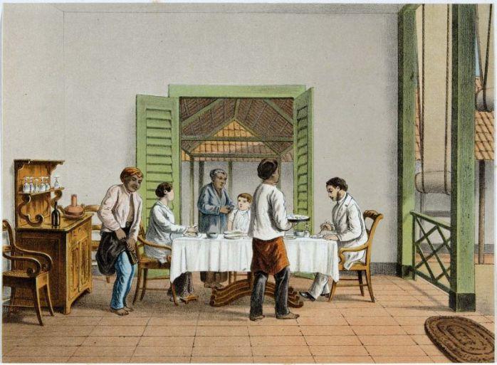 rijsstafel bentuk status sosial dan gaya hidup (sumber http://id.wikipedia.org)
