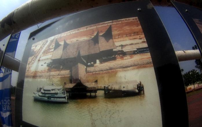 pelabuhan Feri Batam djaman doeloe