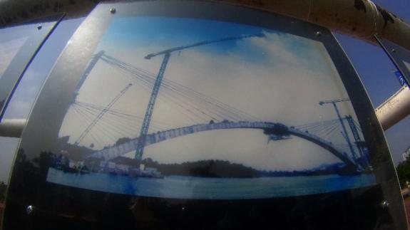 pembangunan jembatan Barelang, ikon kota Batam