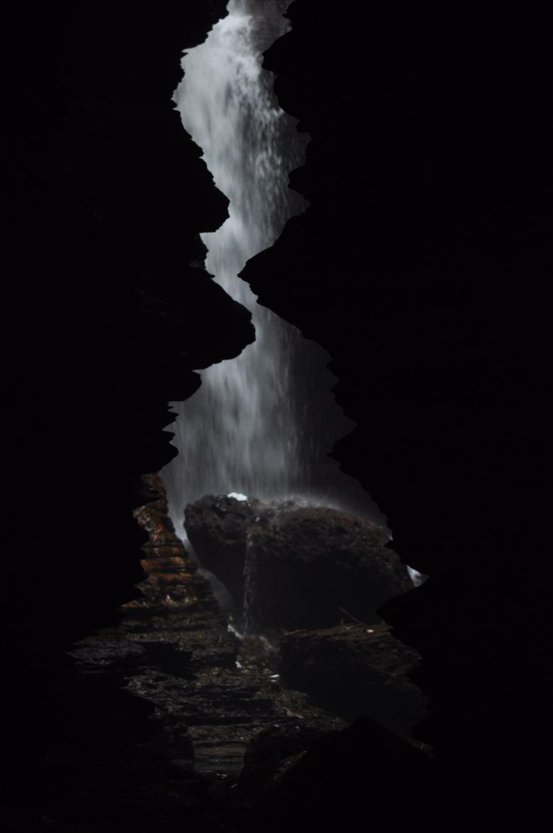 Underground Waterfall in Gupteshwor Mahadevcave  Pokhara, Nepal