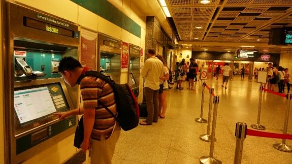 membeli tiket MRT