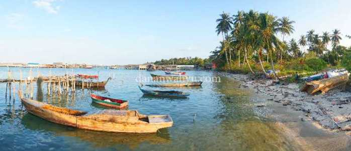 Desa Teluk Bakau , Trikora KM 40